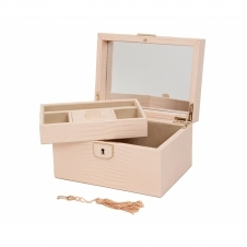 Wolf 213194 Palermo Small Jewellery Box Blush