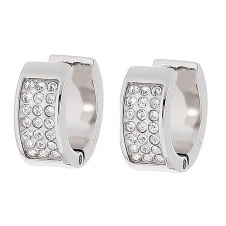 Tommy Hilfiger 2700572 Creole Silver Tone Earrings