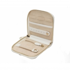 Wolf 308553 Marrakesh Travel Jewellery Case Cream