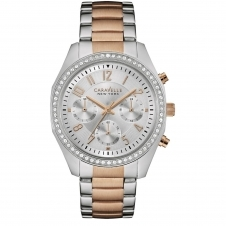 Caravelle New York 45L148 Ladies' Melissa Chronograph Watch