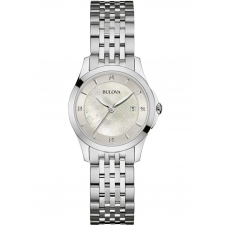 Bulova 96S160 Ladies Diamond Wristwatch