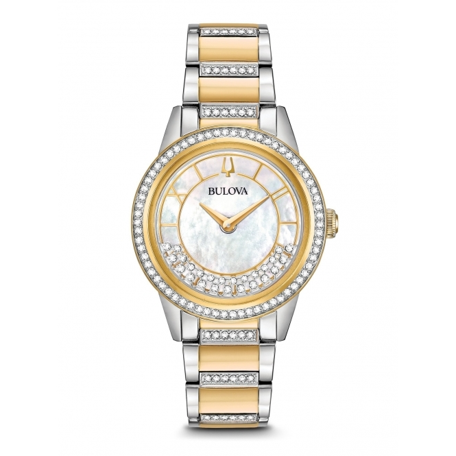 98L245 Women's Crystal TurnStyle Wristwatch
