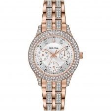 Bulova 98N113 Women's Crystal Wristwatch