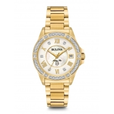Bulova 98R235 Women's Marine Star Diamond Wristwatch