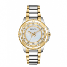 Bulova 98S140 Women's Diamond Wristwatch