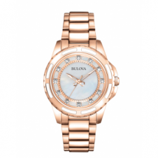 Bulova 98S141 Women's Diamond Wristwatch