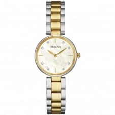 Bulova 98S146 Ladies Diamond Wristwatch