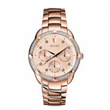 Bulova 98W178 Women's Diamond Wristwatch