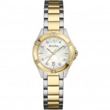 Bulova 98W217 Ladies Diamond Wristwatch