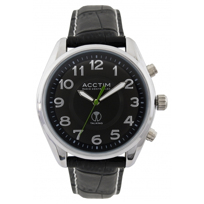 Acctim 60353 Highclere Talking Radio Controlled Wristwatch
