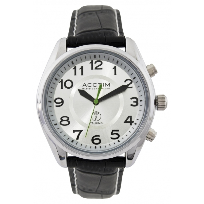 Acctim 60357 Highclere Talking Radio Controlled Wristwatch