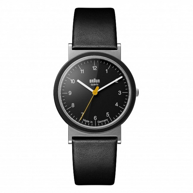 AW10 Classic Wristwatch With Leather Strap