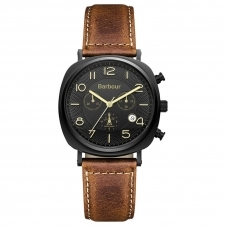 Barbour BB019BKTN Men's Beacon Brown Chronograph