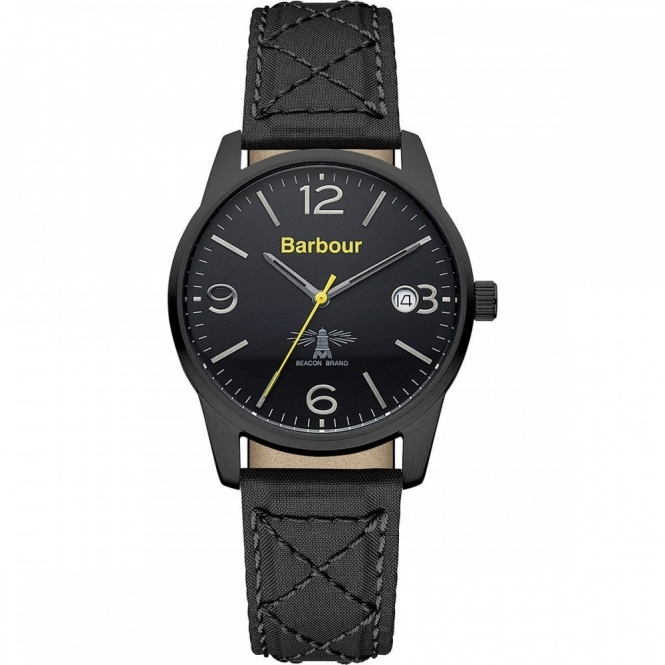 Barbour BB026BKBK Men's Alanby Wristwatch