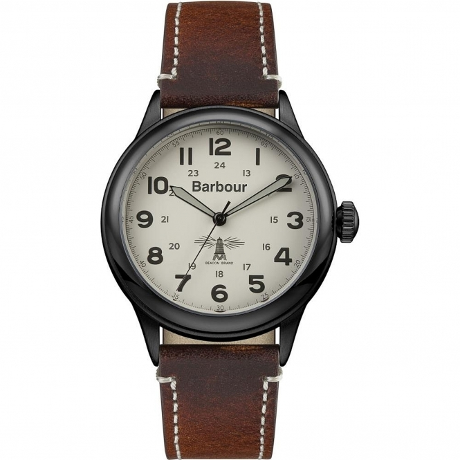 Barbour BB056CMBR Men's Murton Wristwatch