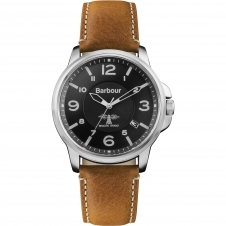 Barbour BB072BKBR Men's Barnard Wristwatch