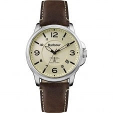 Barbour BB072CPBR Men's Barnard Wristwatch