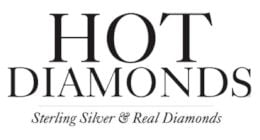 Hot Diamonds DE470 Glide Diamond Heart Earrings