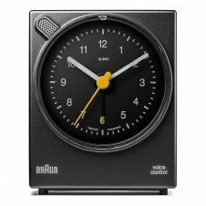 Braun BNC004BKBK Classic Voice Activated Alarm Clock