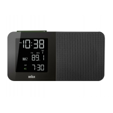 Braun BNC010BK-SRC Digital Global Radio Controlled Clock Radio