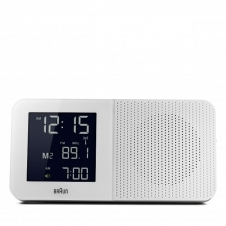 Braun BNC010WH-SRC Digital Global Radio Controlled Clock Radio