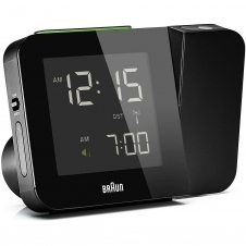 Braun BNC015BKUK-RC Digital Global Radio Controlled Projection Clock