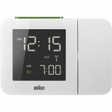 Braun BNC015WHUK-RC Digital Global Radio Controlled Projection Clock