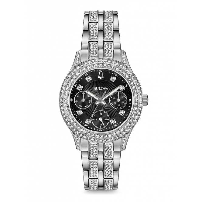 Bulova 96N110 Women's Crystal Collection