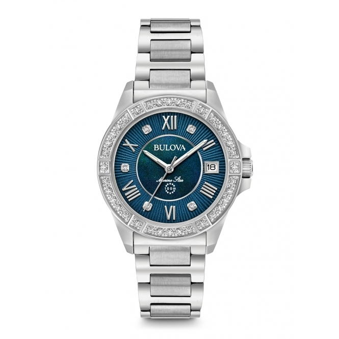 Bulova 96R215 Women's Diamond Collection Wristwatch