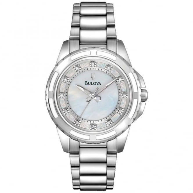 Bulova 96S144 Women's Diamond Collection