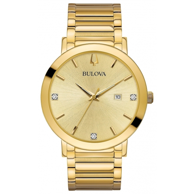 Bulova 97D115 Men's Diamond Set Collection