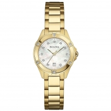 Bulova 97W100 Women's Diamond Wristwatch