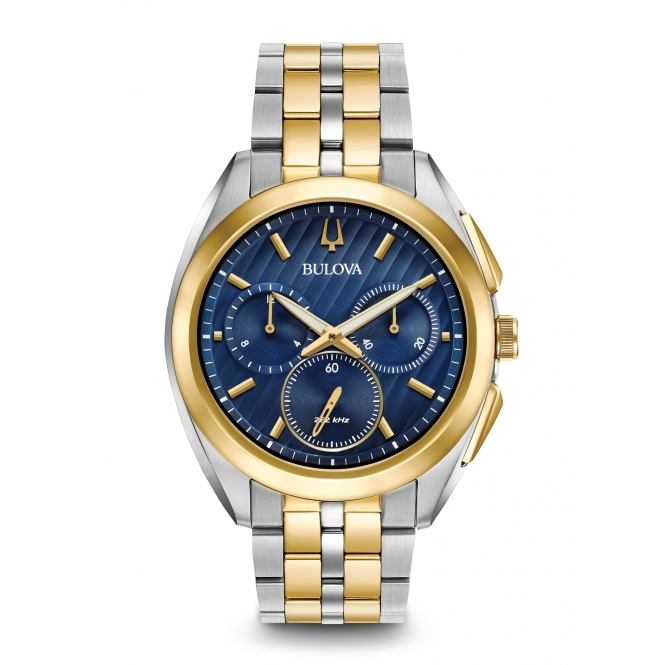 Bulova 98A159 Men's Curv Chronograph Watch