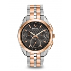 Bulova 98A160 Men's Curv Chronograph Watch