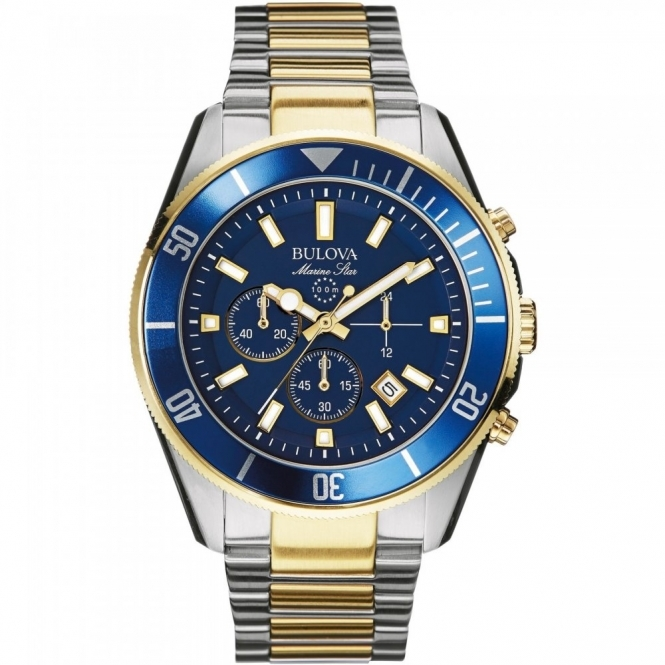 Bulova 98B230 Men's Marine Star Collection