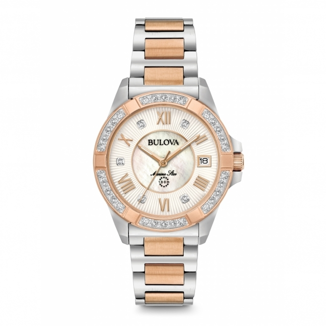 Bulova 98R234 Women's Marine Star Diamond Collection
