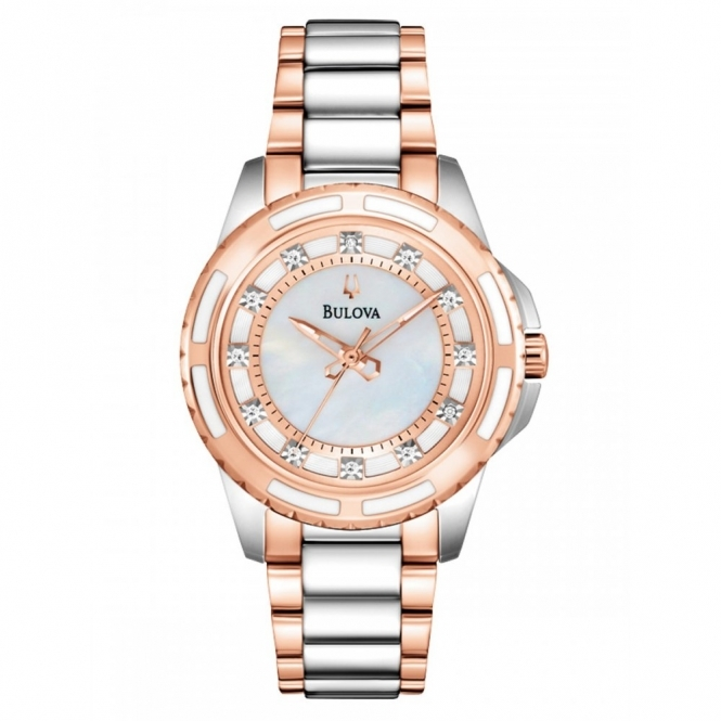 Bulova 98S134 Women's Diamond Collection