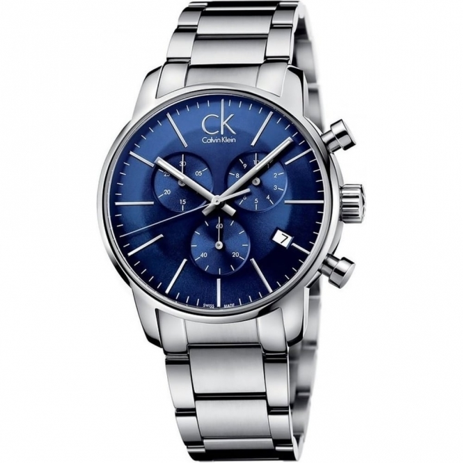 Calvin Klein K2G2714N Men's Blue Chronograph Wristwatch