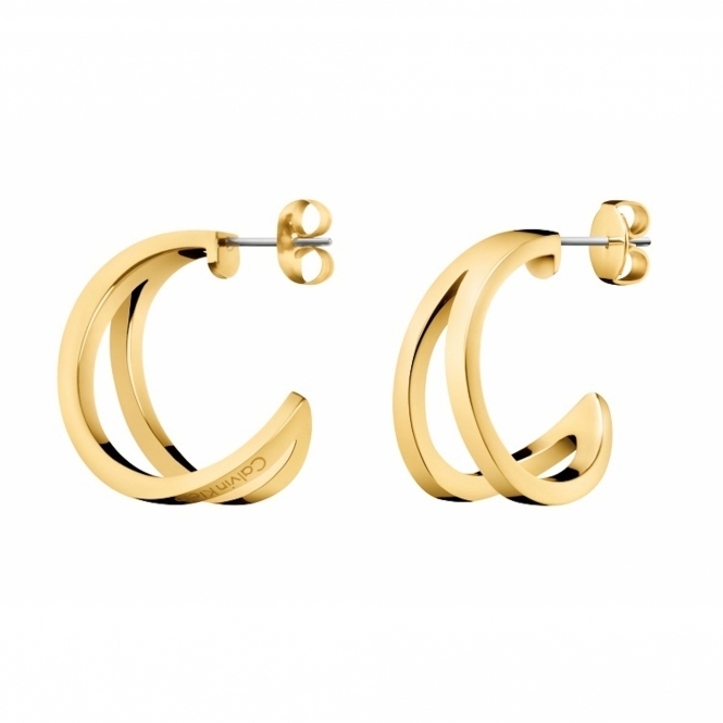 Calvin Klein KJ6VJE100100 Outline Creole Earrings
