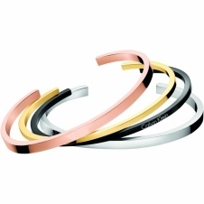 Calvin Klein KJ7GBF40010S 4 Colour Bangle Stack