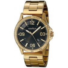 Caravelle New York 44B104 Gent's Gold Tone Wristwatch