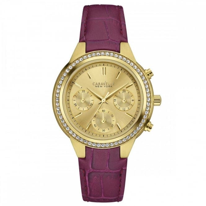 Caravelle New York 44L182 Women's' Chronograph Wristwatch
