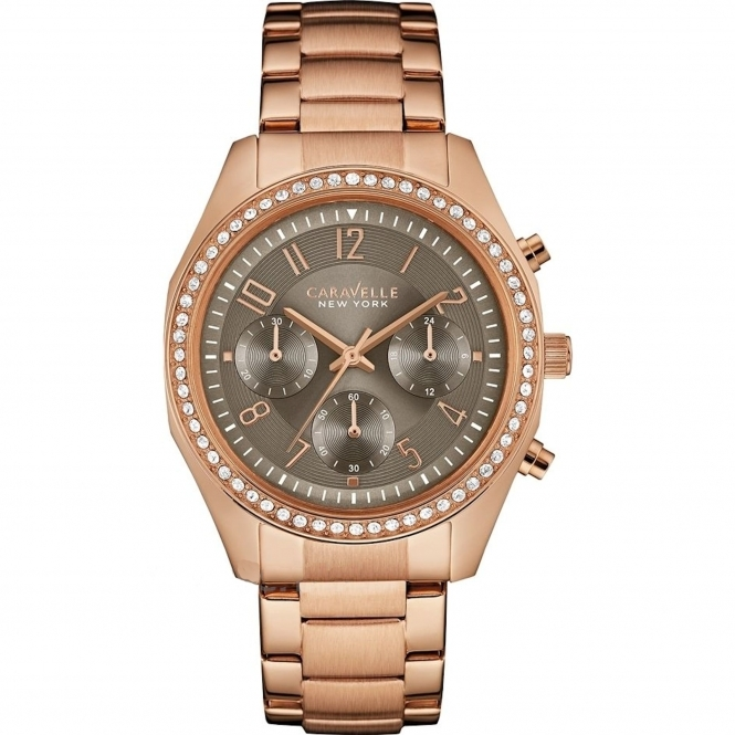 Caravelle New York 44L195 Ladies' Melissa Chronograph Watch