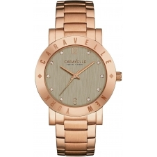 Caravelle New York 44L203 Ladies' Boyfriend Wristwatch