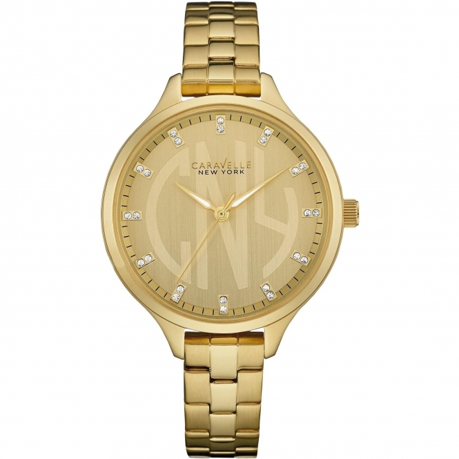 Caravelle New York 44L206 Women's' Crystal Wristwatch