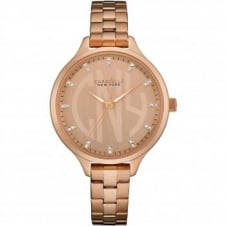 Caravelle New York 44L207 Women's' Crystal Wristwatch