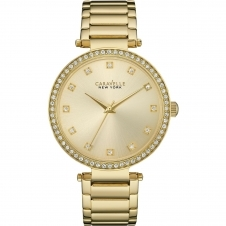 Caravelle New York 44L209 Ladies' Crystal Wristwatch
