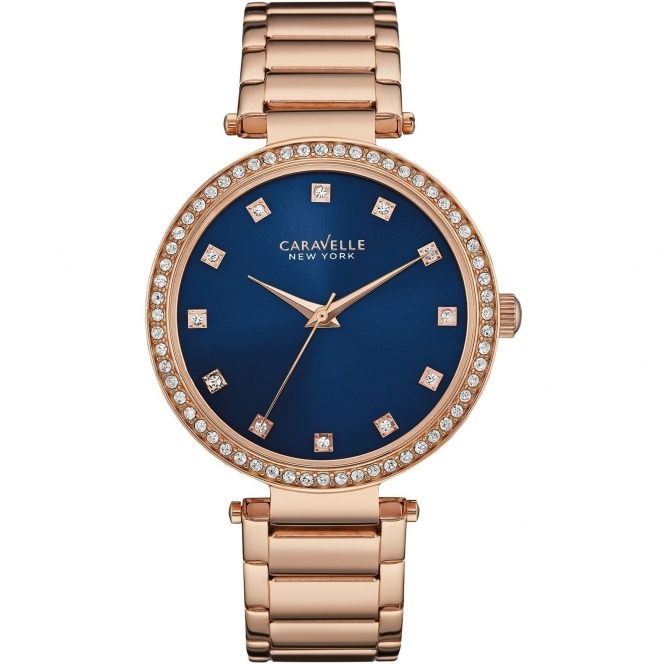 Caravelle New York 44L210 Ladies' Crystal Watch