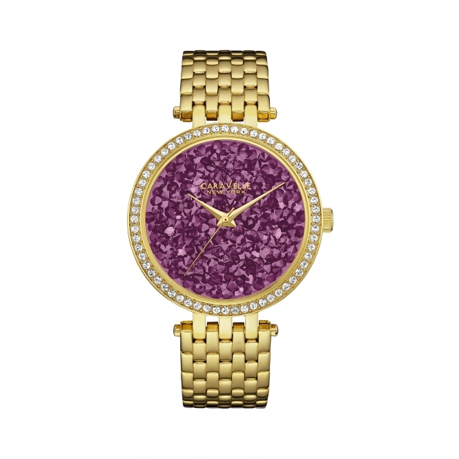 Caravelle New York 44L212 Women's' Crystal Wristwatch
