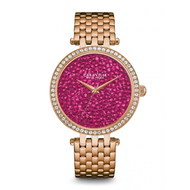 Caravelle New York 44L221 Ladies' Crystal Watch